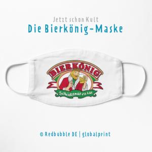 Bierkönig Maske